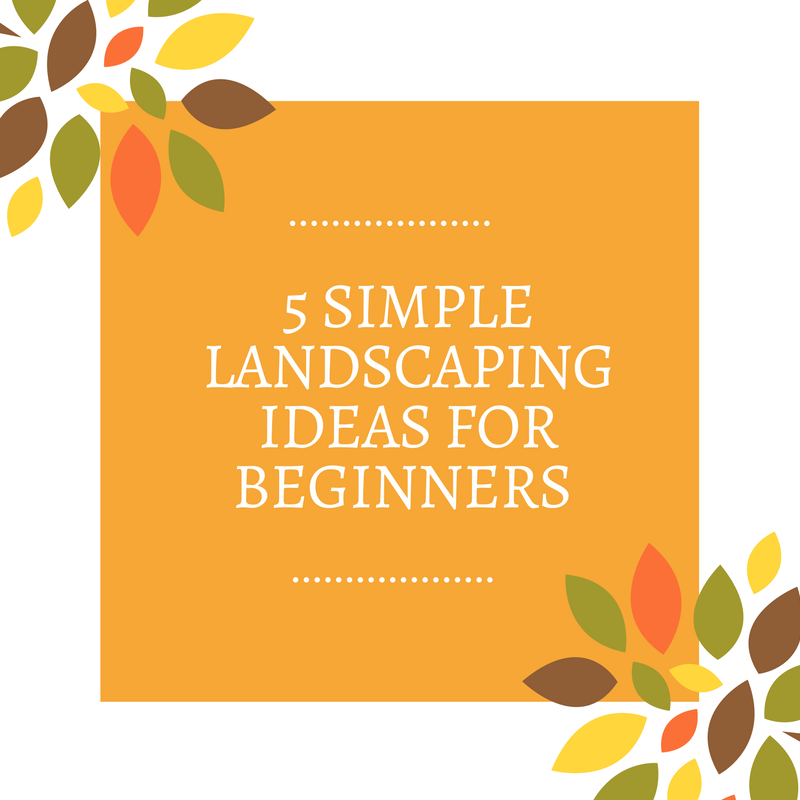 simple landscaping ideas for beginners  frador, Natural flower