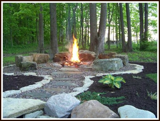 Diy build your own summer fire pit frador for Build my own fire pit