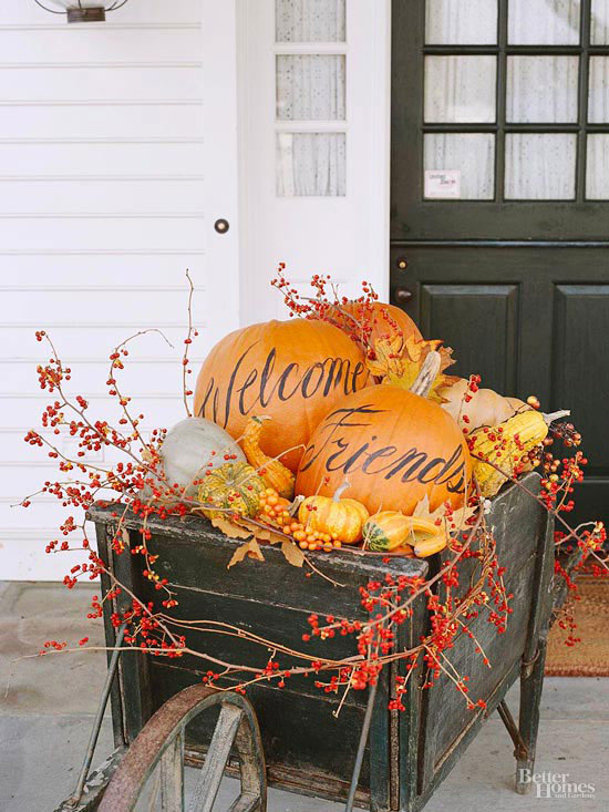 Simple Halloween Decor Part - 47: Pumpkins